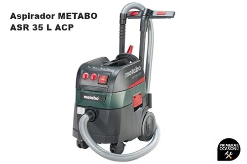 Imagen de Aspirador METABO ASR 35 L ACP