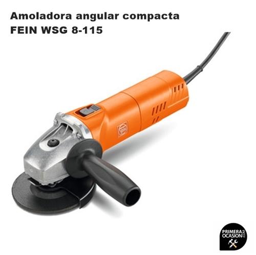 Imagen de Amoladora angular compacta FEIN WSG 8-115