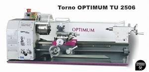Imagen de Torno OPTIMUM TU 2506 400V