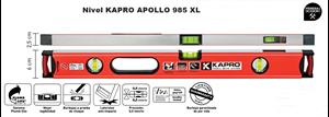 Imagen de Nivel KAPRO APOLLO 985 XL 40 cm