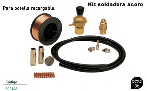 Imagen de Kit soldadura acero TELWIN 802148