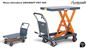 Imagen de Mesa elevadora UNICRAFT FHT 500