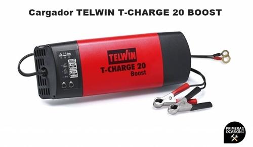 Imagen de Cargador bateria TELWIN T-CHARGE 20 Boost