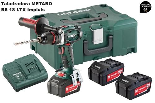 Imagen de Taladradora atornilladora bateria METABO BS 18 LTX Impuls
