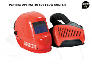 Imagen de Pantalla soldadura SOLTER OPTIMATIC 600 FLOW