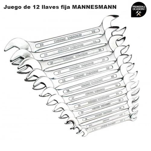 Imagen de Juego 12 llaves fijas MANNESMANN