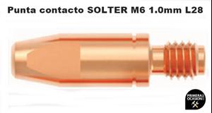 Imagen de Punta contacto SOLTER M6 Ø 1.0 L28