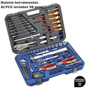 Imagen de Maletin herramientas aisladas ALYCO 98 piezas