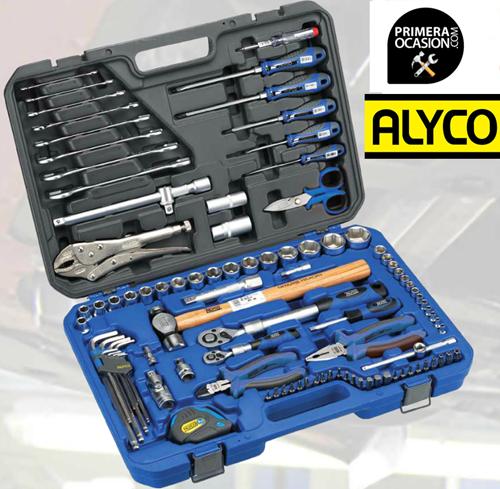 Imagen de Maletin herramientas ALYCO 98 piezas