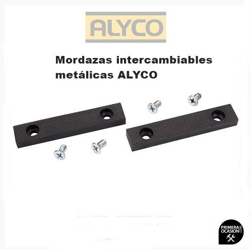 Imagen de Mordazas intercambiables metalicas ALYCO 75 mm 199301