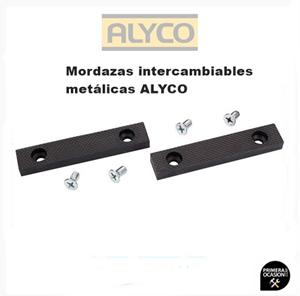 Imagen de Mordazas intercambiables metalicas ALYCO 100 mm 199306