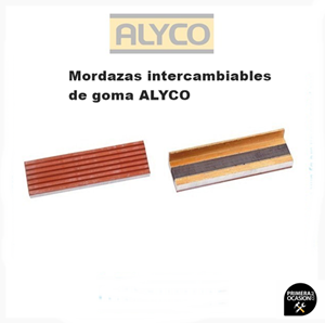 Imagen de Mordazas intercambiables de goma ALYCO 125 mm 199313