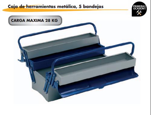 Imagen de Caja de herramientas metalica 5 bandejas ALYCO 192735