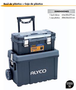 Imagen de Baul de plastico+caja de plastico ALYCO 192796