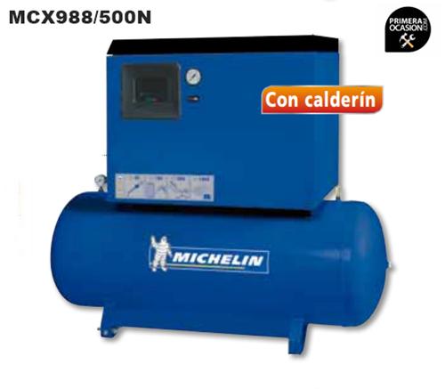 Imagen de Compresor silencioso de piston MICHELIN MCX 988/500N