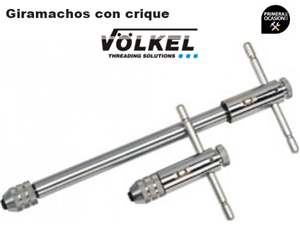 Imagen de Giramachos con crique VOLKEL M5-12