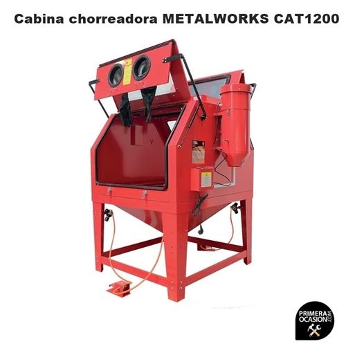 Imagen de Cabina chorreadora de arena METALWORKS CAT1200