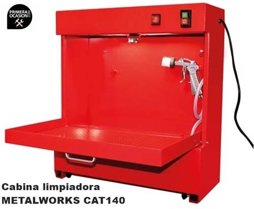 Imagen de Cabina limpiadora METALWORKS CAT140