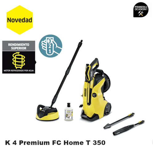 Imagen de Hidrolimpiadora KARCHER K 4 Premium FC Home T 350