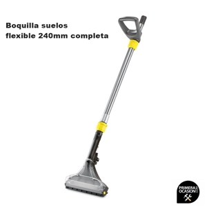 Imagen de Boquilla suelos flexible 240 mm completa KARCHER para PUZZI