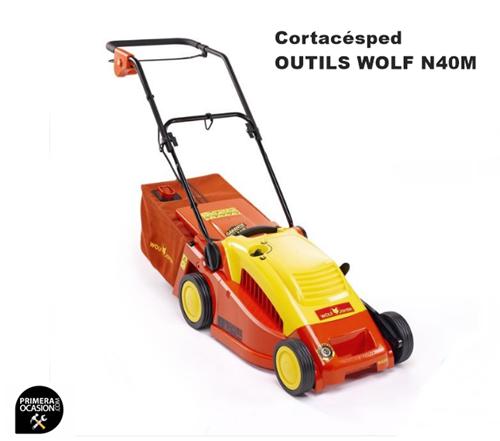 Imagen de Cortacesped electrico Outils Wolf N40M