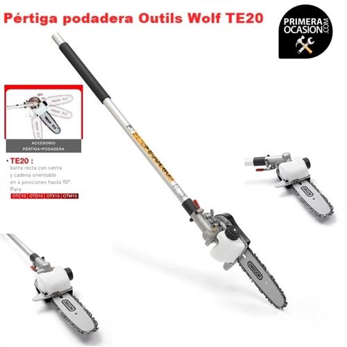 Imagen de Pertiga podadera Outils Wolf TE20