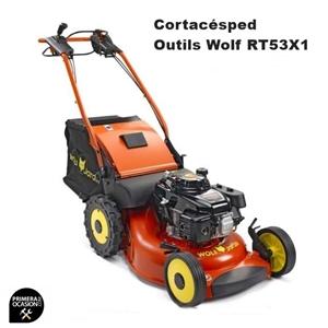 Imagen de Cortacesped gasolina Outils Wolf RT53X1