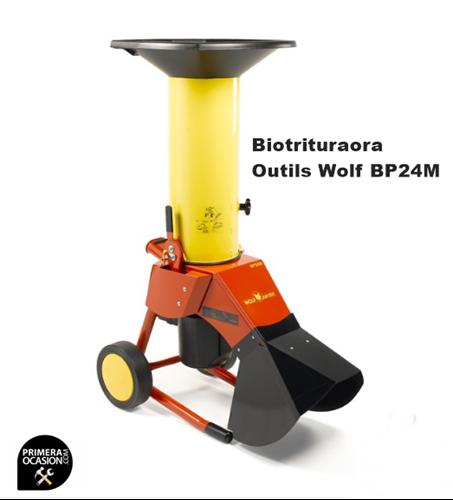 Imagen de Biotrituradora Outils Wolf BP24M