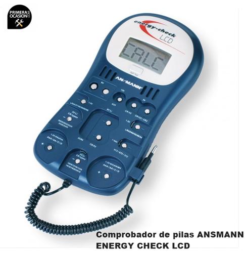 Imagen de Comprobador de pilas ANSMANN ENERGY CHECK LCD