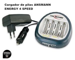 Imagen de Cargador de pilas ANSMANN ENERGY 4 SPEED