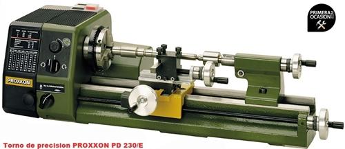 Imagen de Torno precision PROXXON PD 230/E