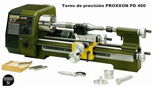 Imagen de Torno precision PROXXON PD 400