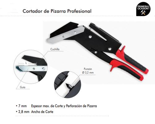 Imagen de Cortador de pizarra profesional 35 mm DOGHER TOOLS 896-35