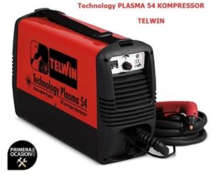 Imagen de Corte plasma inverter TELWIN Technology plasma 54 KOMPRESSOR