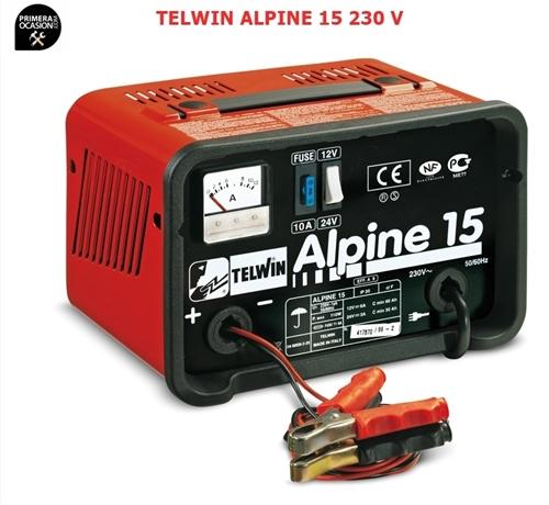 Imagen de Cargador bateria TELWIN ALPINE 15