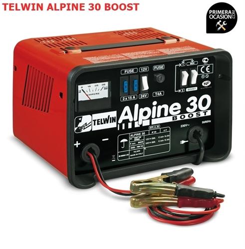 Imagen de Cargador bateria TELWIN ALPINE 30 BOOST
