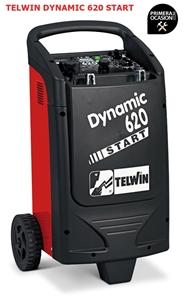 Imagen de Cargador arrancador bateria TELWIN DYNAMIC 620 START