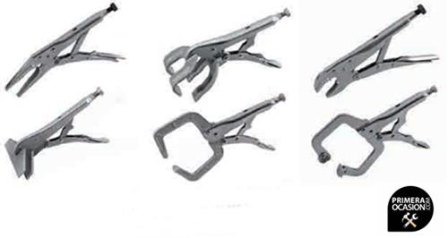 Imagen de Kit 6 mordazas de carrocero TELWIN