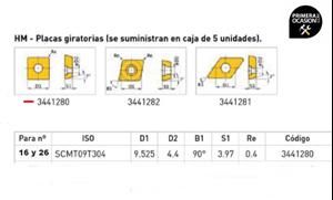 Imagen de Placas giratorias HM OPTIMUM 3441280