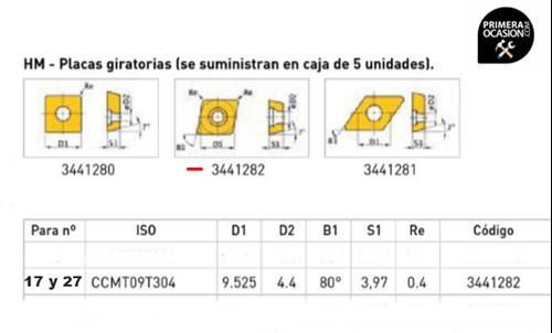 Imagen de Placas giratorias HM OPTIMUM 3441282