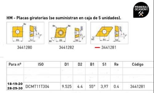 Imagen de Placas giratorias HM OPTIMUM 3441281