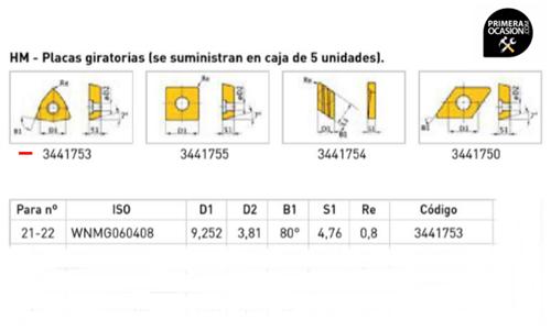 Imagen de Placas giratorias HM OPTIMUM 3441753