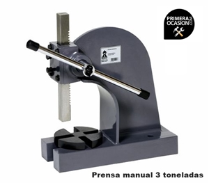 Imagen de Prensa manual FORTEX FTX-3-P