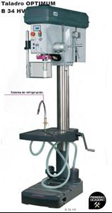 Imagen de Taladro con variador OPTIMUM B 34 HV