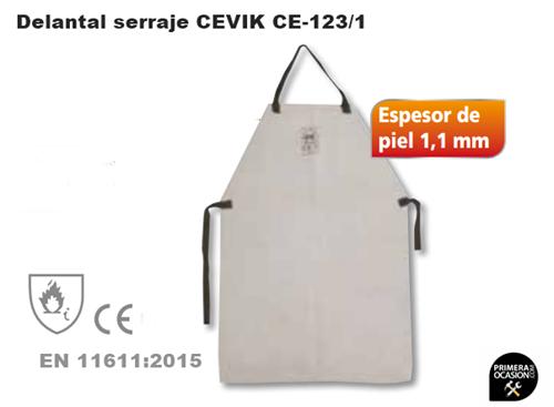 Imagen de Delantal serraje CEVIK CE-123/1
