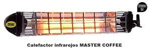 Imagen de Calefactor electrico por infrarrojos MASTER COFFEE 18