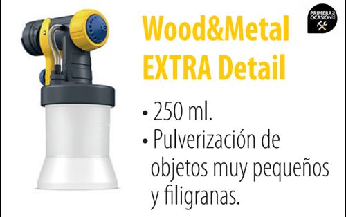 Imagen de Frontal WAGNER Wood&Metal Extra detail 250 ml