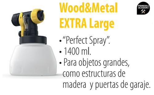 Imagen de Frontal WAGNER Wood&Metal Extra large 1400 ml