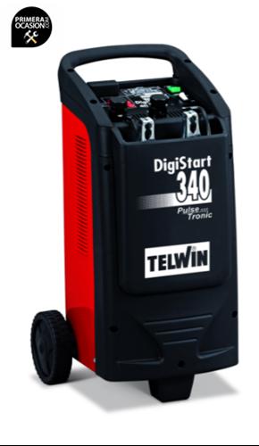 Imagen de Cargador arrancador bateria TELWIN DIGISTART 340 Pulse Tronic