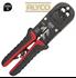 Imagen de Alicate de carraca para engastar terminales de red ALYCO 108375